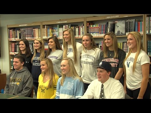 11 RFH Athletes Sign