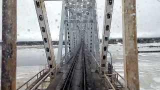 видео Мост через р. Чусовую в Пермском крае