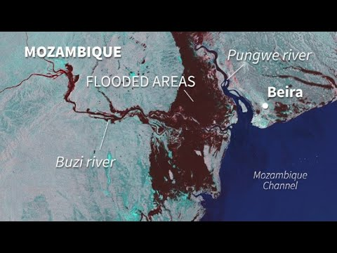 AFP news agency: Devastating floods in southern Africa