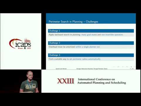 ICAPS 2013: Patrick Eyerich - Stronger Abstraction Heuristics Through Perimeter Search