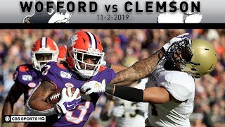 Wofford vs No.4 Clemson Breakdown: Tigers rout Terriers for 24th straight victory | CBS Sports HQ