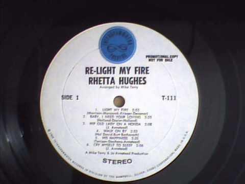 Rhetta Hughes  Cry Myself To Sleep