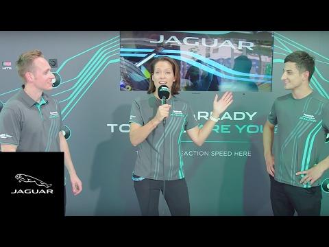 Panasonic Jaguar Racing   Adam Carroll vs Mitch Evans in Hong Kong