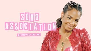 Christina Milian Sings Adele, Aaliyah, and Lady Gaga in a Game of Song Association | ELLE