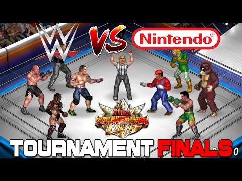 WWE VS NINTENDO: Fire Pro Wrestling World Tournament FINALS
