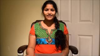Aditi Bhavaraju - Selected Contestant Review on Padutha Theeyaga USA 2015
