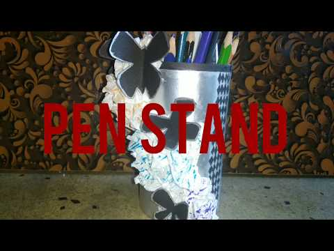Pen stand||how to create pen stand||NIFT SITUATION TEST.