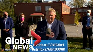Coronavirus: ford calls for more funding from ottawa to assist in long-term care improvements | full