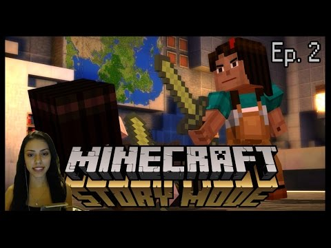 SHE'S INFECTED!?! - MINECRAFT: STORY MODE EP 2 - PART 2