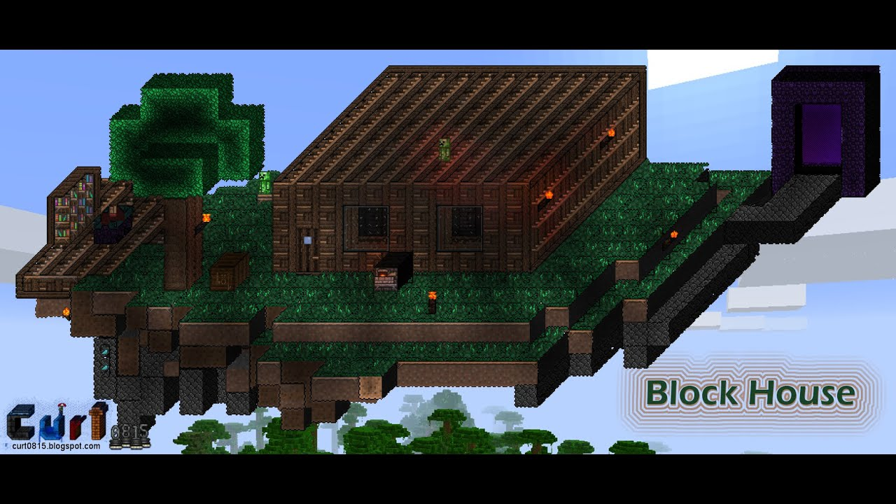 Block House Minecraft Homage In Terraria Streamtest With