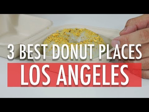 MUKBANG: THE BEST DONUTS IN LA!