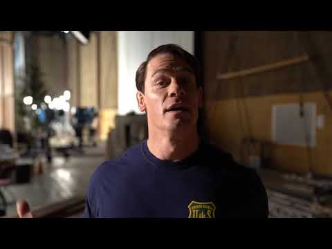 Laura - John Cena sends video message to Colorado Springs Police Officer Cem Duzel