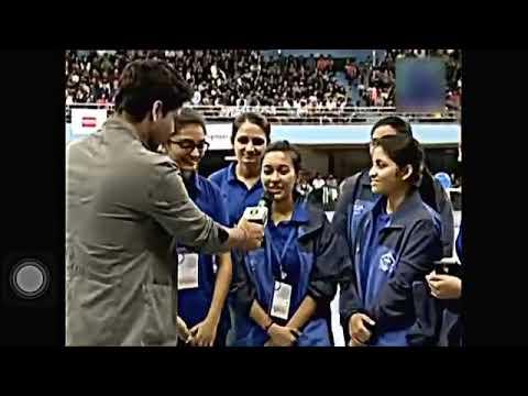 ABU ROBOCON 2017 India Vadodara Institute of Engineering (VIE) Girls' Team Interview2 on DD National