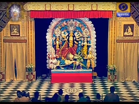 Durga Puja from Belur Math :Devi Puja Maha Saptami Part 1: 05.10.2019