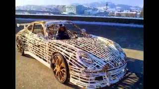 Porsche 911 Made Of Bicycle Parts(, 2015-05-24T13:52:53.000Z)