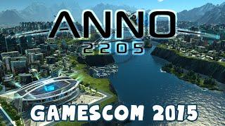 Anno 2205 GAMEPLAY - Gamescom 2015