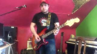 Whiskey glasses Morgan Wallen guitar cover Video