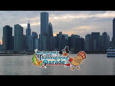 Bring die Polizeimusik Zürich-Stadt an die Thanksgiving Parade 2018 in Chicago / USA