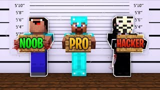 Minecraft - NOOB PRO HACKER - MURDER MYSTERY!