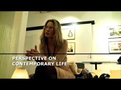 with Maria Bonnevie at the Gothenburg International Film Festival