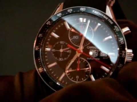 tag heuer carrera watch closer look youtube rh youtube com Rolex Submariner Rolex Submariner