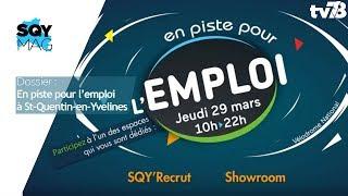 SQY Mag – Dossier : En piste pour l'emploi à Saint-Quentin-en-Yvelines