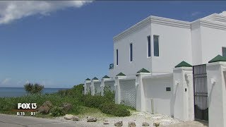 Florida beachfront 'mob mansion' up for sale