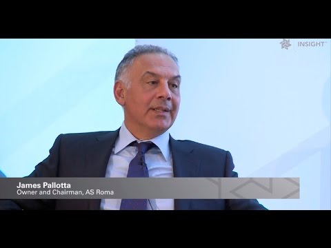 James Pallotta, AS Roma: Developing infrastructure for the future