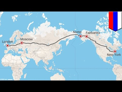 Russia superhighway: NYC to London by car a reality or pipedream?