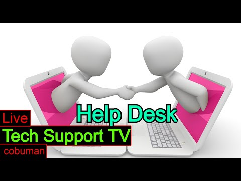 Tech Support TV, Topic: Help Desk Tier 1 and Tier 2 Training.