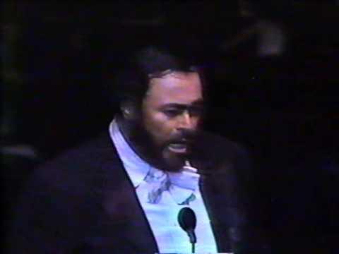 Pavarotti en Monterrey NL, México 1991 (encore)