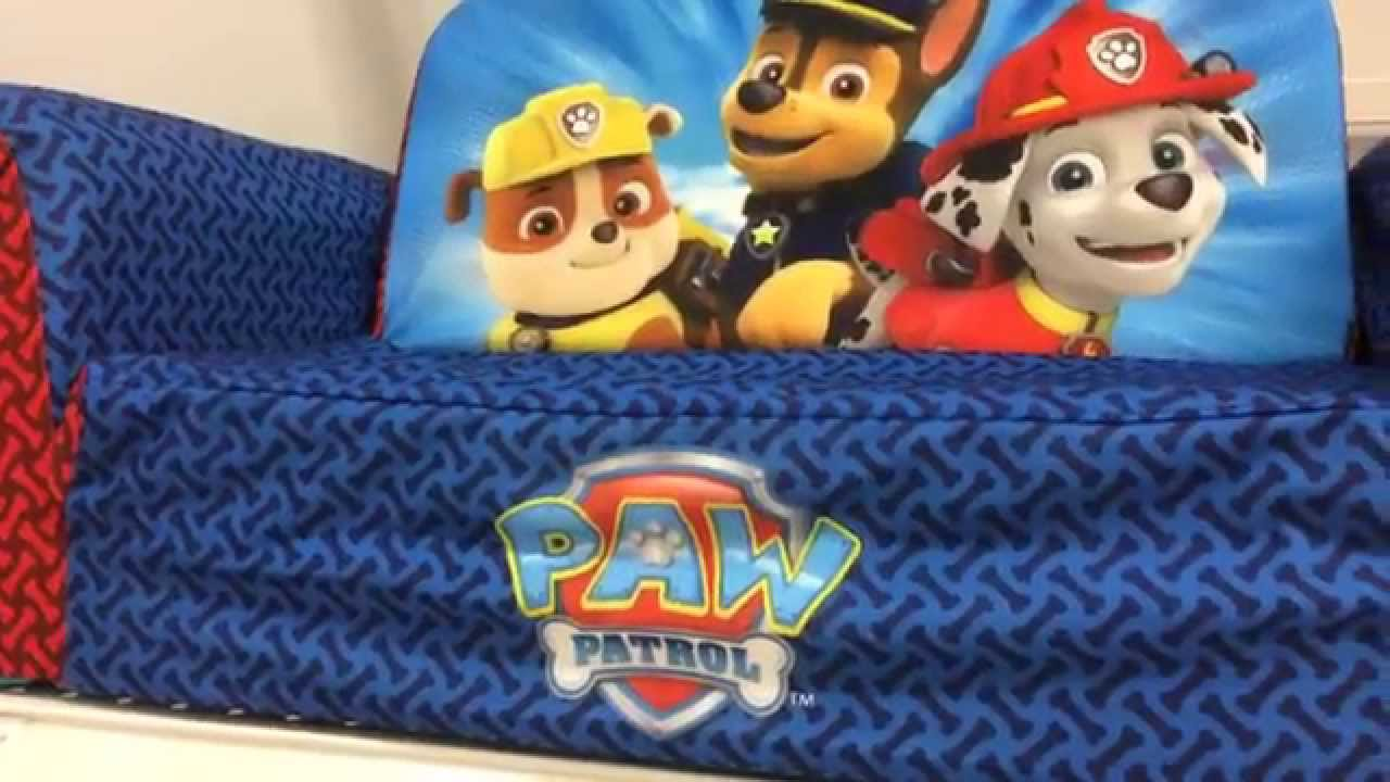 Paw Patrol Bed Couch Backpack Sofa Furniture Youtube