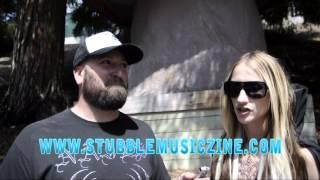 Huntress Interview @ Mayhem 06-30-2013