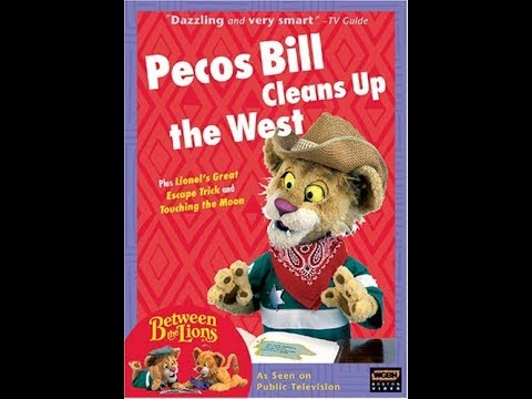 Opening To Between The Lions Pecos Bill Cleans Up The West 2005 DVD