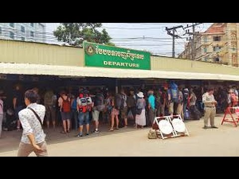 Poipet Cambodia on the Thai border -09/10/2015