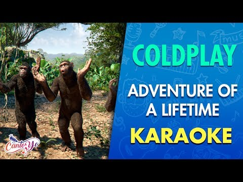 Coldplay - Adventure Of A Lifetime (Karaoke) | CantoYo