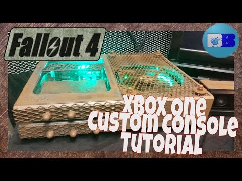 Xbox One Custom Console Tutorial - Fallout 4 (A Drumblanket DIY Project)