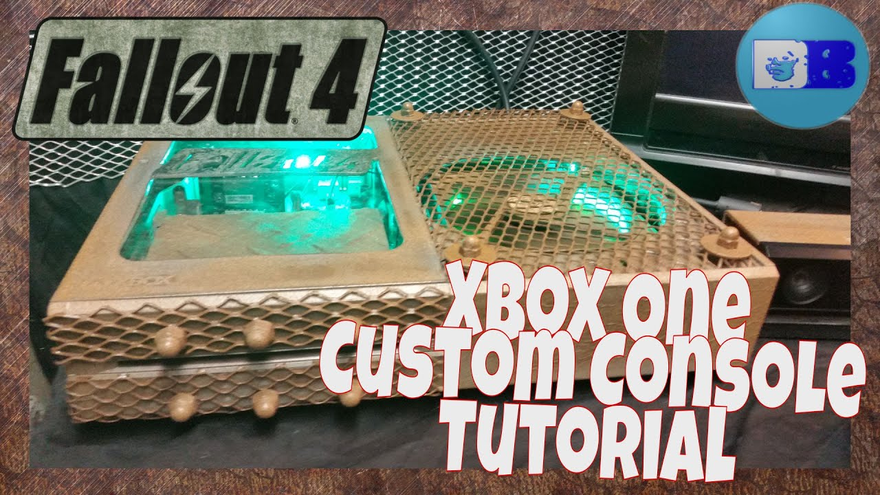 Diy Project Xbox One Custom Console Tutorial Fallout 4 A Drumblanket Diy