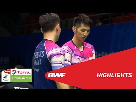 TOTAL BWF SUDIRMAN CUP 2019 | MD | CHINA VS INDIA | BWF 2019