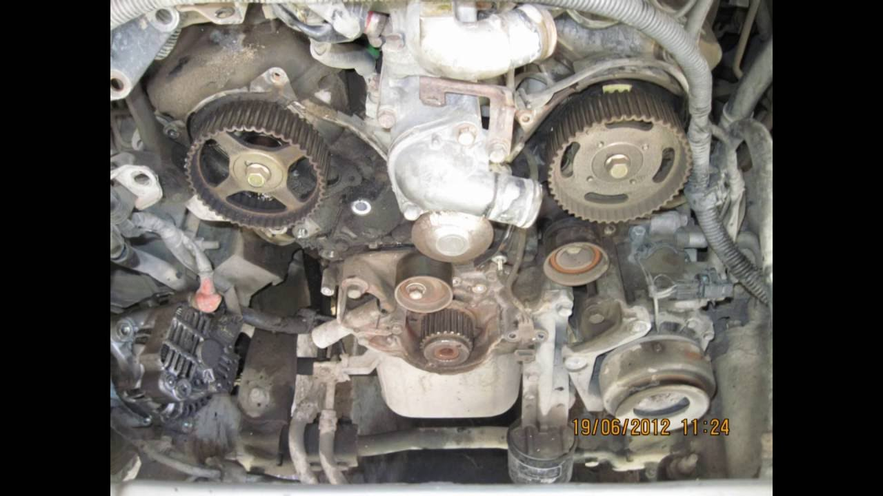 2003 Honda V6 Engine Diagram Mitshubishi Montero Sport Engine 6g72 V3 0 24 Valve Youtube