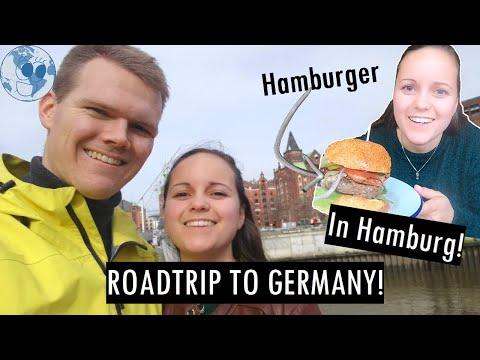 Weekend roadtrip to GERMANY! Eating a Hamburger in Hamburg