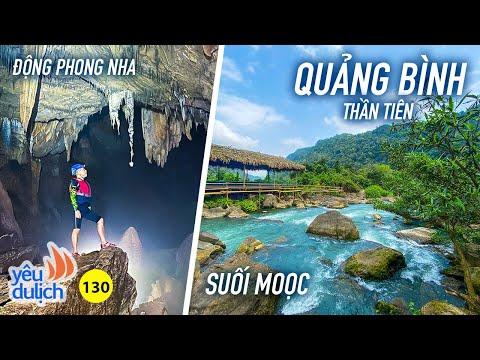 YDL #130: Choáng ngợp Quảng Bình đẹp như tiên cảnh | Suối Moọc - Phong Nha Kẻ Bàng | Yêu Máy Bay