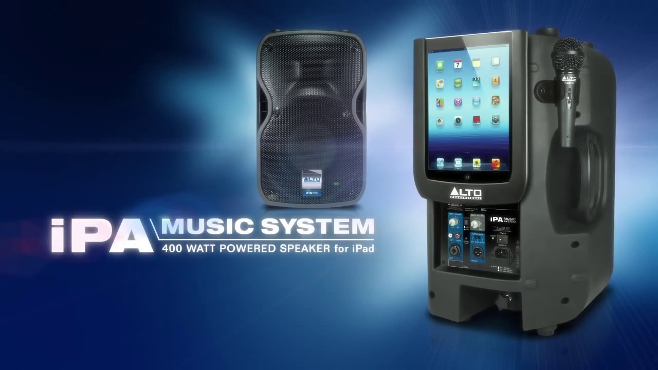 Alto Professional - LEGACY P A  SYSTEMS Series > iPA Music System