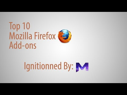 Top 10 Mozilla Firefox Add-ons