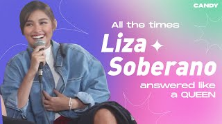 All the Times Liza Soberano Answered Like a Queen