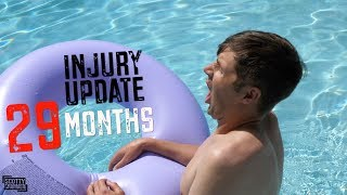 I CAN'T SWIM!! Injury Update 29 Months Since My Accident!