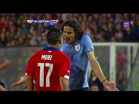 Chile 1 - 2 Uruguay - Amistoso 2014