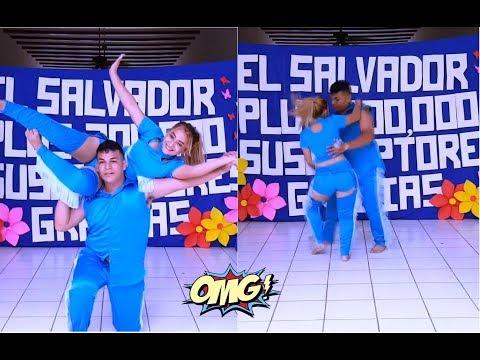 19-LA QUEBRADORA: Heidi y Enrique Bailando Al Ritmo De La Quebradora-Somos 200,000-Parte 19