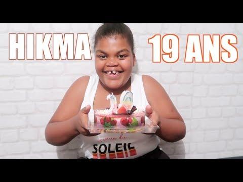 VLOG : L'ANNIVERSAIRE DES HIKMA POUR  SES 19 ANS  #SAKINAFAMILY