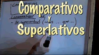 INGLÉS. 24- COMPARATIVOS y Superlativos. Inglés para hablantes de español. Tutorial